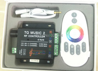 2-24 V 18A 2CH RGB V2 Musik led controller touch dimmer Sound/Audio control + RF Touch fernbedienung