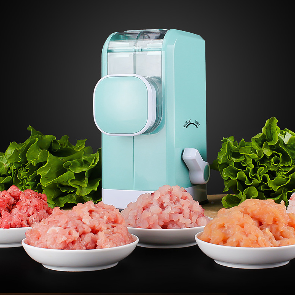 High Quality Home Multifunction Manual Meat Grinder Stainless Steel Blade Meat Grinder Gear Vegetable Mincer Sausage Mix Machine upgrade manual meat grinder mincing machine for home vegetable mincer meat slicer fish grinder kitchen sausage machine