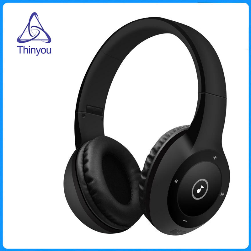 Thinyou Headset Wireless Bluetooth Headphone Foldable Stereo Earphone Handsfree with Microphone Support TF Card Music Play headphones blutooth 4 1 wireless foldable sport earphone microphone headset with tf card slot mp3 player music earphone earpiece