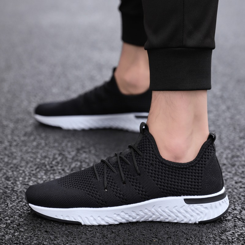 2018 Spring New Soft Bottom Casual Shoes Student Net Cloth Breathable Mens  5