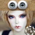 1Pair SD BJD Doll Accessories Gray Color Eyes Doll Acrylic 12MM 14MM Eyes BJD