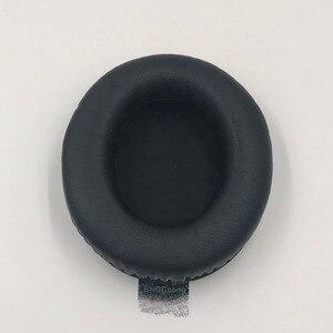 Image 2 - Almohadillas para las orejas de cuero proteico, repuesto para Kingston HyperX Cloud II, almohadillas suaves para las orejas, buena calidad, 1 par