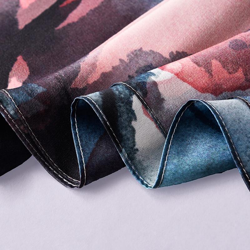 Damen 100% Reiner Seide Schal Luxus Marke 2019 Hangzhou Seide Schals und Wraps für Frauen Doppel schicht Natürliche Echt seide Schals - 6
