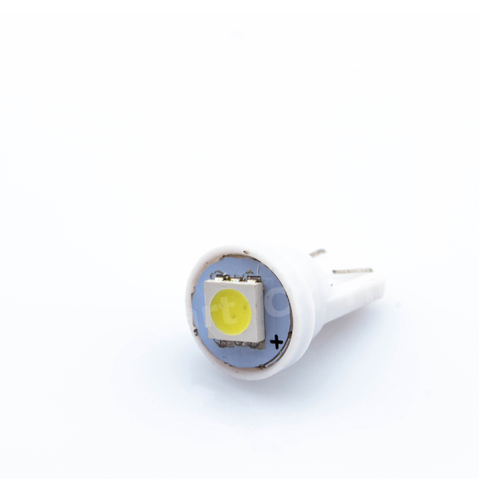 Wholesale super bright Auto led car led lighting/t10 wedge led auto lamp white T10 194 168 192 W5W 5050 1 smd led 1smd 1led