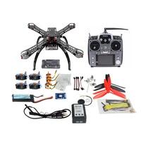 JMT 310 mm Fiberglass Frame DIY GPS Drone FPV Multicopter Kit Radiolink AT10 2.4G Transmitter APM2.8 1400KV Motor 30A ESC