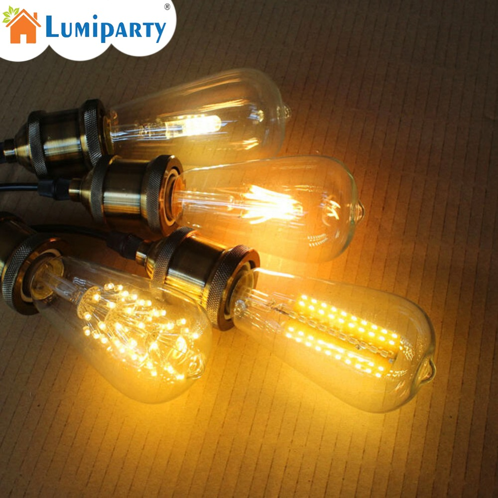 LumiParty 220V/5W Retro Style LED Firework Bulb E27 Decorative Lamp Edison Bulb for Christmas Halloween Festival Parties