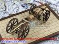 Горячая лесные масштабные модели масштабные оружие наполеон период наполеон пушки + средний платформа + прицеп масштаб деревянные военные игрушки