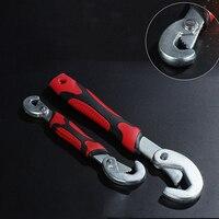 2PCS Multi Function Adjustable Universal Torque Wrench Spanner Set Quick Snap Grip Hand Tool Herramientas De