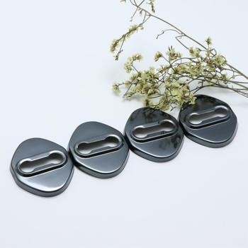 4pcs Anti Rust Car Door Lock Protective Buckle Cover For mazda 3 mazda3 mazdaspeed 3 Car Styling Accessories image