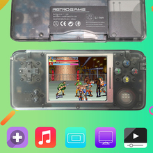 Coolbaby Retro Handheld Game Console 3.0 Inch Console Built-in 1151 Different Games Support For NEOGEO/GBC/FC/CP1/CP2/GB/GBA