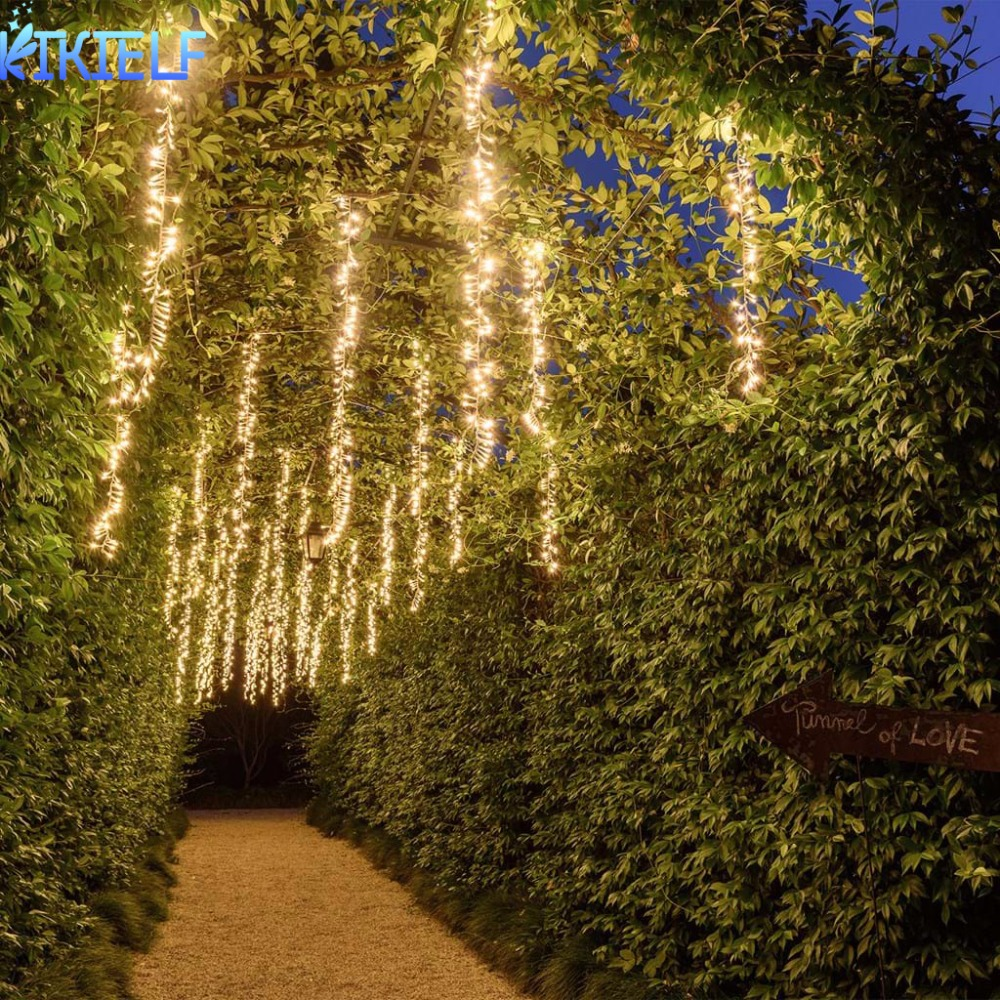1.5m/2.5m/3.5m Warm White Fairy Lights Christmas  Garland  Led Racimos String Lights  For  Wedding Party Garden Decor Curtain