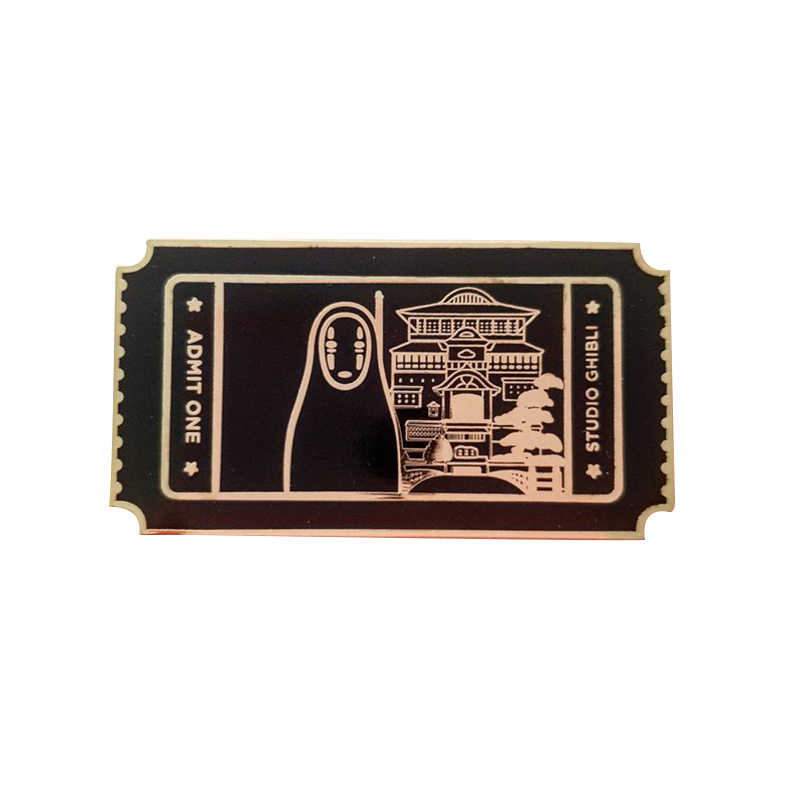 Spirited Away Kein Gesicht Film Ticket Pin