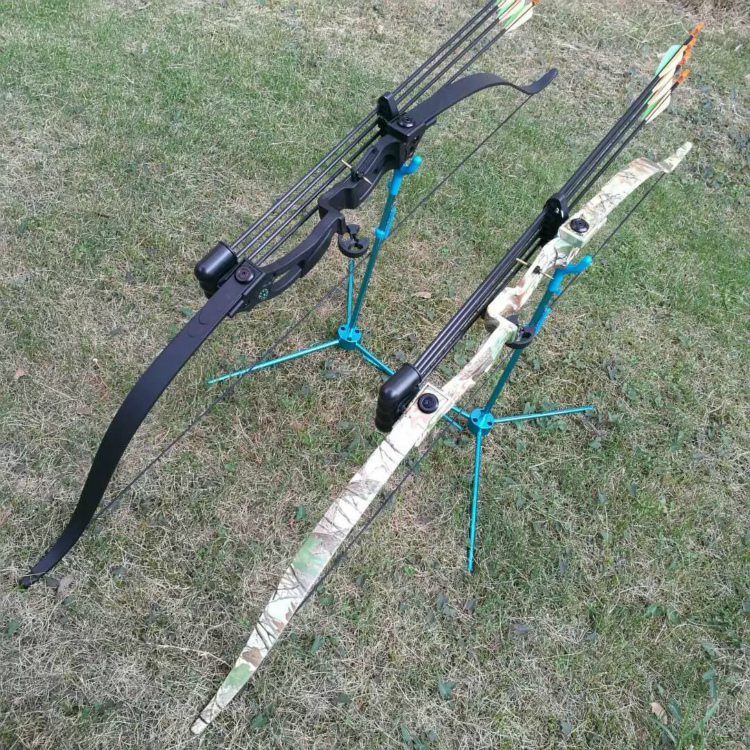 2 Color Recurve Bow 48 Inches Draw Weight 20 Lbs Draw Length 28