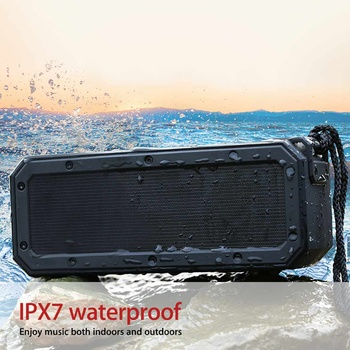 40W bluetooth Speaker Column Portable Speaker IPX7 Waterproof Subwoofer with 360 Stereo Sound Outdoor Speakers Boombox 1
