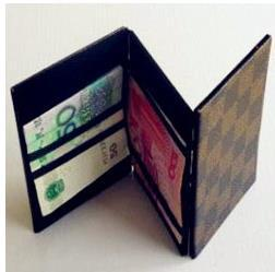 Free Shipping! Magic Wallet 2.0 -  Magic Tricks Magic Props,Gimmick,Accessories,Mentalism,Stage Magic,Close Up,Comedy