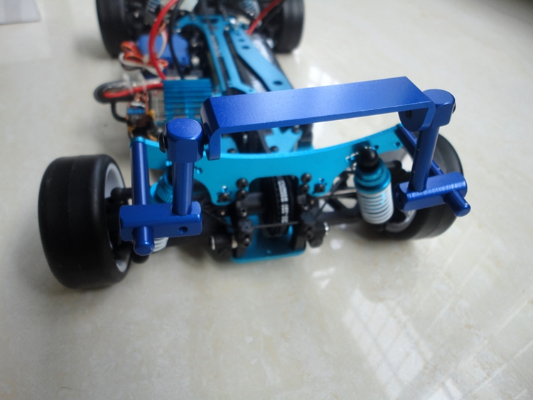 Ewellsold CNC upgrade metal body post /body shell column for 1/10 RC racing car free shipping