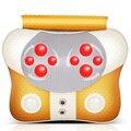 Multifuncional dispositivo de massagem de vibração para massagem travesseiro cervical pescoço cintura ombro para trás do agregado familiar