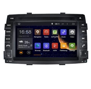 2018 7inch 4G LTE 32G 1024*600 octa core Android 8.0 ! car multimedia DVD player Radio GPS FOR KIA SORENTO 2010 2011 2012 WIFI
