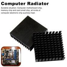 1 шт. 40 мм * 40 мм * 11 мм радиатор из экструдированного алюминия профиль рассеивания тепла для электронного Z09 Прямая поставка