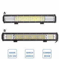 19 20 INCH OFFROAD LED LIGHT BAR CAR BOAT ATV 4WD 4X4 TRUCK WAGON PICKUP TRACTOR CAMPING OUTDOOR 12V 24V ADDITIONAL DRIVING LAMP