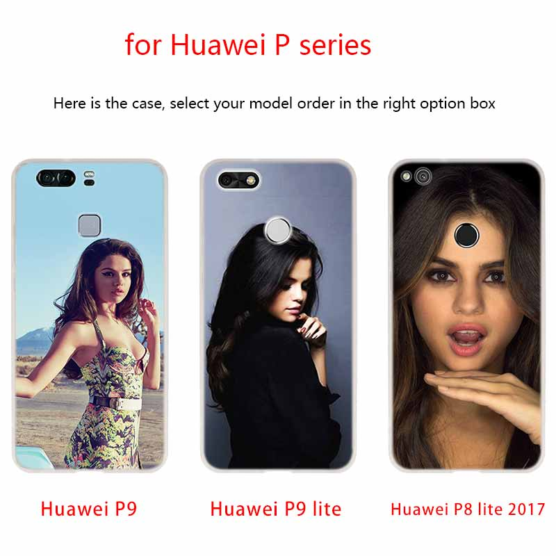 sexy Selena Gomez Phone Case For Huawei P40 P9 P10 P20 P30 Lite Cases Pro P Smart 2019 Cover Soft Cover