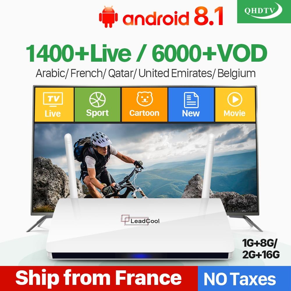 Consumer Electronics ... Home Audio & Video Equipments ... 32516767912 ... 1 ... Leadcool IPTV France Box Android French Arabic IPTV Rk3229 Leadcool QHDTV Subscription 1 Year Belgium Dutch Arabic France IPTV ...