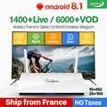 Leadcool IPTV Francia Box Android francés árabe IPTV Rk3229 Leadcool QHDTV suscripción 1 año Bélgica holandés árabe Francia IPTV