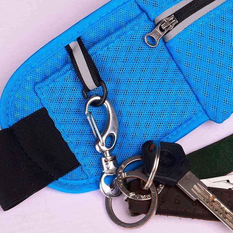 Adisputent カジュアルウエスト男性女性多機能火傷バッグヒップマネーベルト旅行バッグ電話ポケットスポーツウェア
