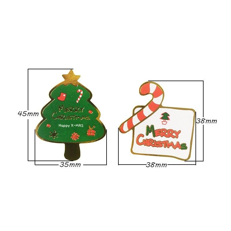 80 teile/los Stil Gemischt Frohe Weihnachten & Baum DIY ...