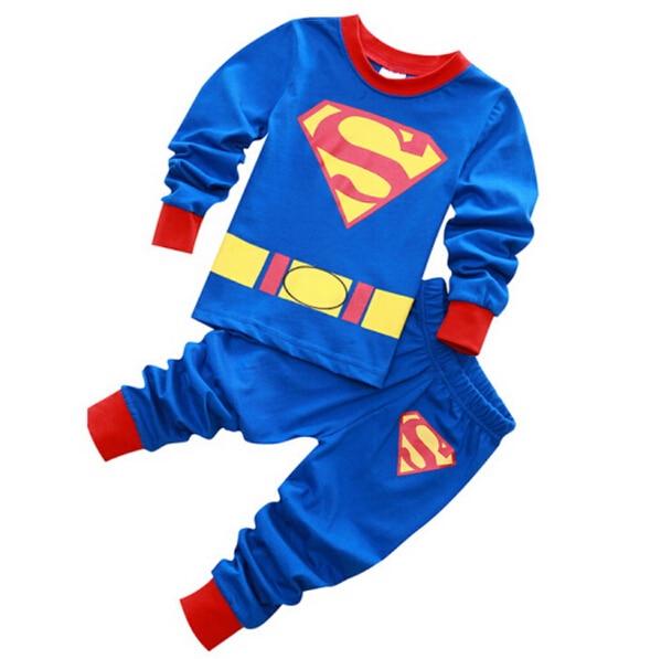 Popular Superman Pajamas Boys-Buy Cheap Superman Pajamas Boys lots ...