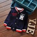 2016 spring children's clothing / cotton baby boy child cardigan jacket boys jacket cartoon embroidered children coat