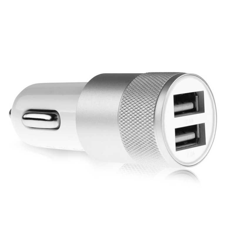 1A 2 USB Ports Car Charger Universal Intelligent Charging Dual USB Car Charger For iPhone Samsung Android Phone #2