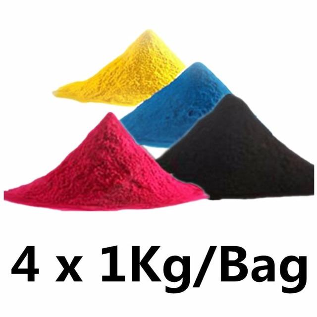 100g//Bottle,6 Black,6 Cyan,6 Magenta,6 Yellow No-name Refill Copier Color Laser Toner Powder Kits for Dell 1320 3110 3115 3130 for Epson C2800 3800 Laser Printer Toner Power