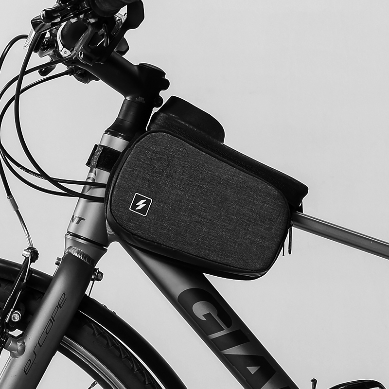 New ROSWHEEL Bicycle Bike Cycling Frame Pannier Front Top Tube Phone Bag  Z!