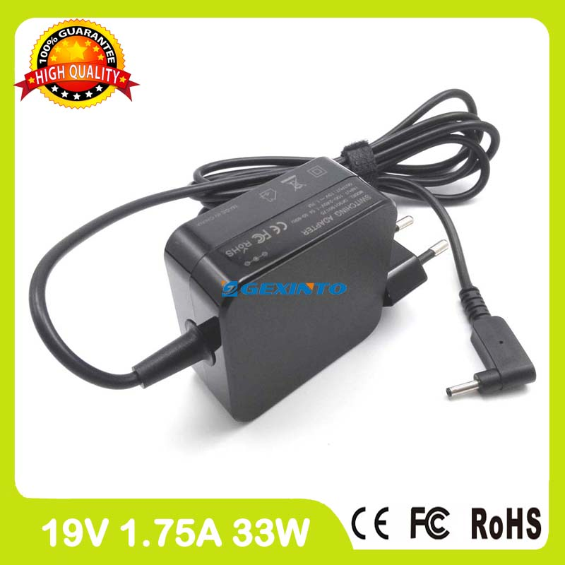 19V 1.75A 33W ac power adapter laptop charger for Asus Transformer Book T200TA T200CA T3 chi T300 chi EU Plug