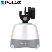 PULUZ-abrazadera de Metal para montaje de teléfono, trípode, rotación de 360 grados, cabezal panorámico, Tornillo de montaje de bola 1/4