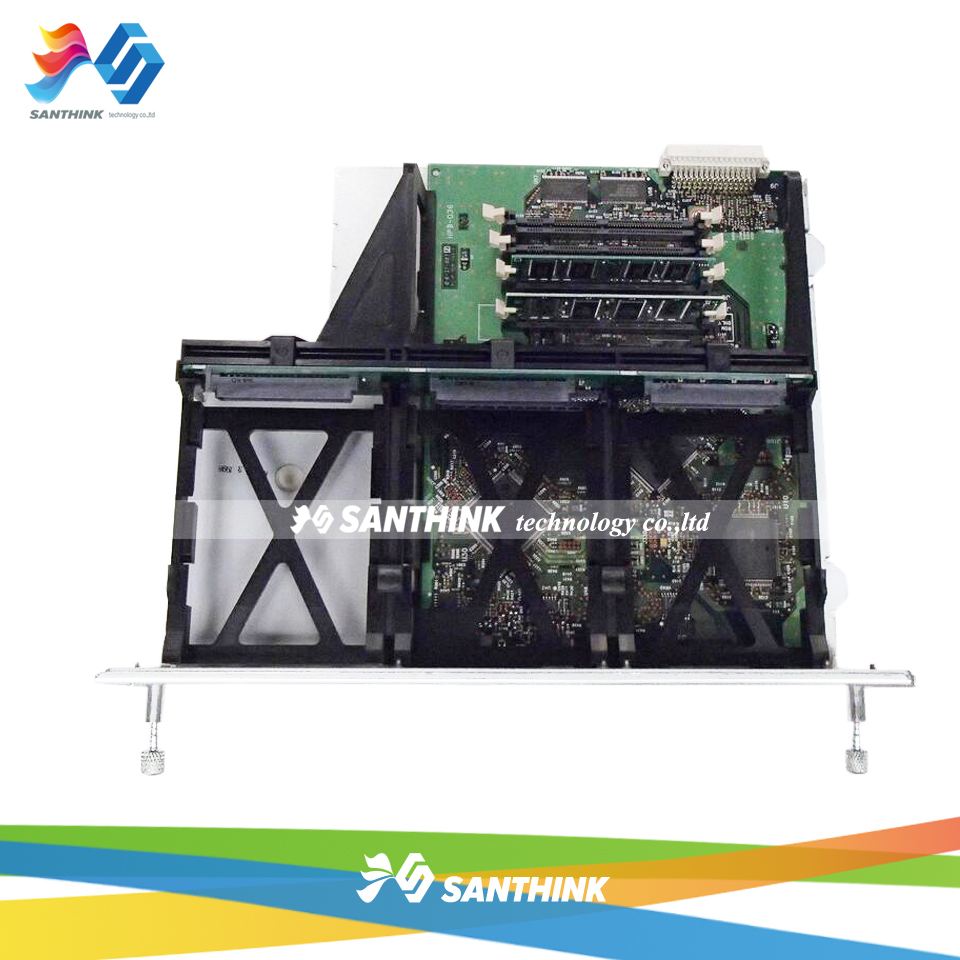 LaserJet Main Board For HP 8100 8150 C4107-60001 C4265-69001 HP8100 HP8150 Formatter Board Mainboard new oem formatter board 220v for hp laserjet pro m126a m126 m125a m125 126 125 cz172 60001 high quality mainboard copier parts