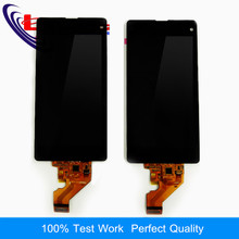Liujiang Nueva Pantalla Para Sony Z1 Mini Compacto D5503 M51W acreen Táctil LCD Pantalla Digitalizador Asamblea
