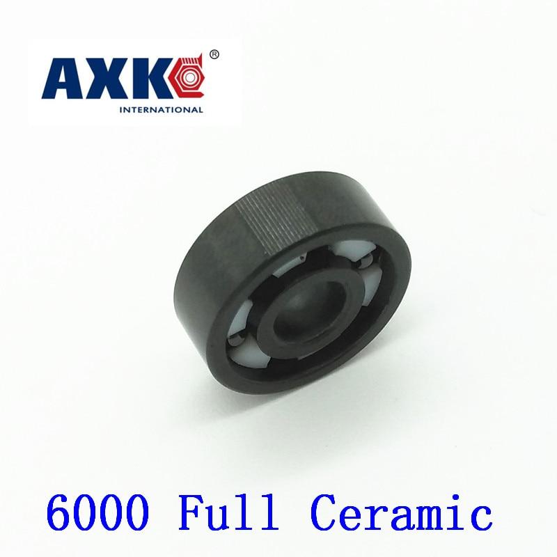 купить Axk 6000 Full Ceramic Bearing ( 1 Pc ) 10*26*8 Mm Si3n4 Material 6000ce All Silicon Nitride Ceramic Ball Bearings онлайн