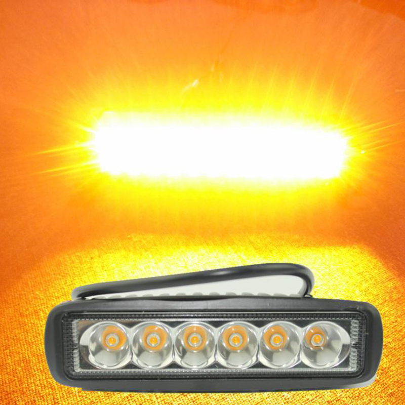 12v-24v Amber Led Car Fog Light Motorcycle Driving Emergency Light Offroad Day Light Truck Trailer Rv Side Marker Beacon Lights Cheapest Price From Our Site