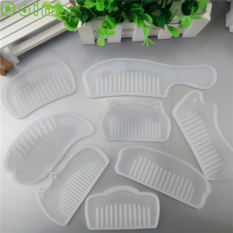 Doinb Comb Series Silicone Mold Epoxy Resin Jewelry Making Cosmetic Tools DIY Hand Craft