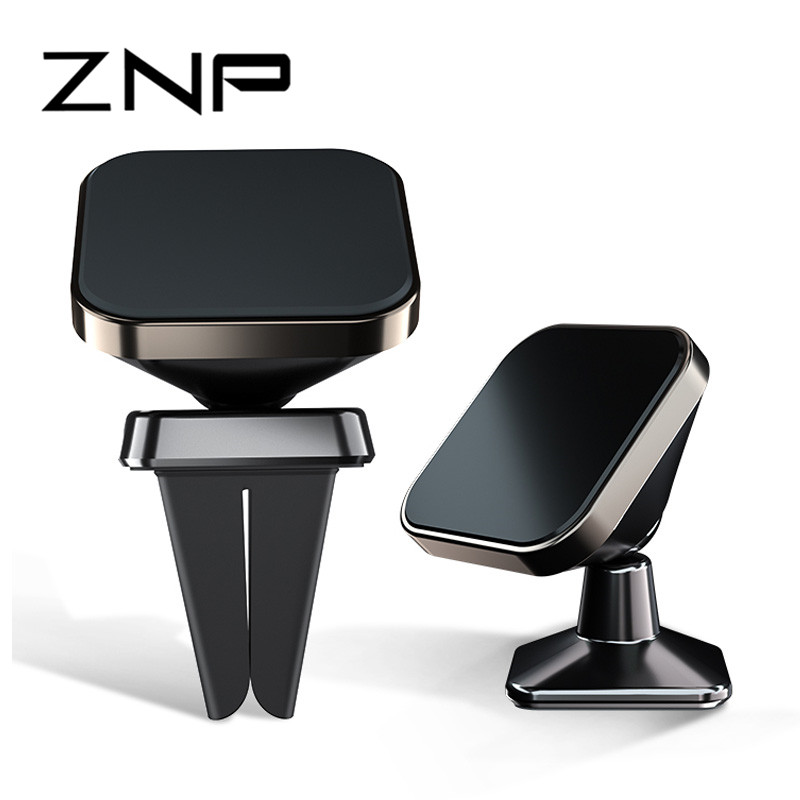 ZNP 3 Style Magnetic Car Phone Holder Stand For iphone X 8 7 Samsung S8 Air Vent GPS Universal Mobile Phone Holder Free ship