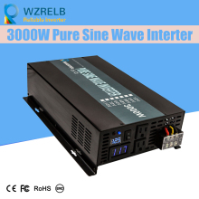 Continuous power  3000w pure sine wave solar inverter 24V to 220V off-grid converter