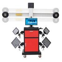 Инструмент диагностики неисправностей автомобиля умный 3D изображение четыре колеса Aligner