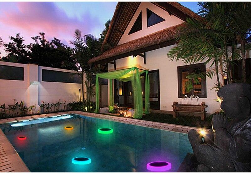 16 cores flutuante paisagem luzes da noite