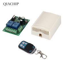 цена на 433 Mhz Universal Wireless Remote Control Switch AC 85V ~ 250V 110V 220V 2CH Relay Receiver Module   and RF 433Mhz Remote Contro