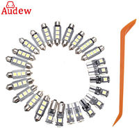 26Pcs LED Car Lamp White Interior SMD Light Kit For Mercedes Benz W211 E Class03 09