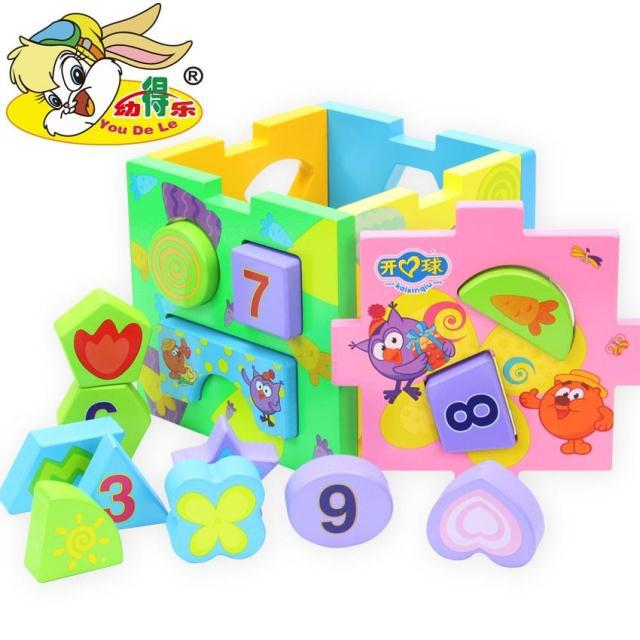 Wooden Building Blocks Infant Toys infants and young children early childhood educational toys geometric shape matching children s early childhood educational toys the bear change clothes play toys creative wooden jigsaw puzzle girls toys