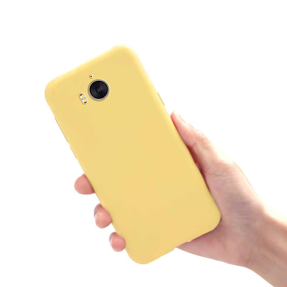 لينة TPU حافظة لهاتف Huawei Y5 2017 حالة سليم سيليكون هواوي Y6 2017 غطاء الهاتف الخلفي حامي الوفير لهواوي Y 5 y6 2017 حالة