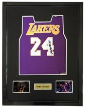 4f05b9bf435a Kobe Bryant signed autographed purple basketball shirt jersey come with Sa  coa framed Lakers(China